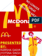 Mc. Donalds Downfall
