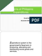 Philippine Expenditure Pattern