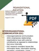 Interorganizational Communication