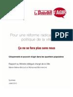 Rapport Bacque Mechmache