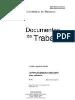 CARRIZO Raúl - El problema de la imputación - Asistematicidad posmoderna