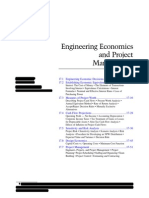 Engineering Economics and Project Management