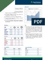 Derivatives Report, 23 August 2013