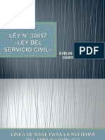 Servicio Civil y Dictemenes