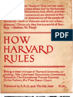 How Harvard Rules