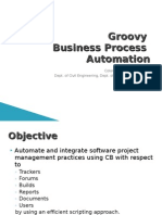 Business Process Automation with codeBeamer & Groovy
