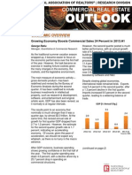 Commercial Real Estate Outlook August 2013