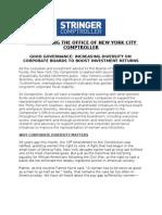 Stringer 2013 - Diversity on Corporate Boards
