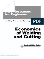 Economics of Welding & Cutting