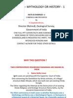 Ramayana, Geo-scientific Evidences (K. Gopalakrishnan, Aug. 26, 2013)