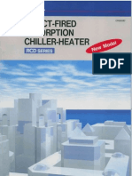 RCD Ebara Absorption Chiller