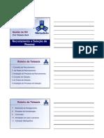 Slides Sobre Recrutamento
