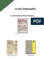 Epoca das Ordenações do Reino de Portugal - Carlos Ferreira Santos e Patricia Estevao