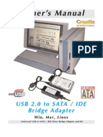 Usb Sata Ide Bridge Manual