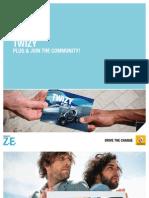 Gebruikershandleiding Renault Twizy, modeljaar 2012 - Nederlands