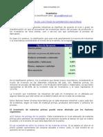 Stock de Inventarios y Cantidad Economica de Pedido Clase.