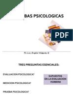 Panorama General de Pruebas Psicologicas Presentacion Para Estudiantes