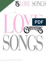 Carpenters Songbook - Love Songs