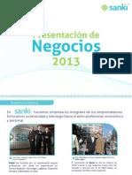 PRESENTACION SANKI 2013