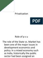 Privatisation 1