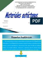 Proyecto de Materiales de Construccion (Materiales Autoctonos) Diapositiva