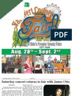 2013 Van Wert County Ohio Fair Tab