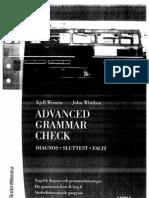 Advanced Grammar Check - Facit