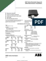 ABB Pneumatic Transmitters