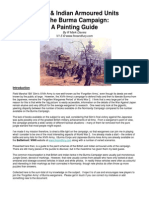 Burma Army Painting Guide