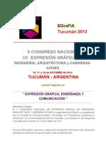 x Congreso Egrafia _ Tucuman 2013 - Segundo Envio - Spw