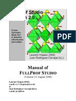 Manual FullProf Studio
