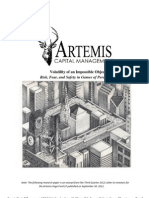 Artemis - Volatility of an Impossible-Object