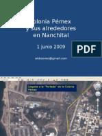 Colonia Pémex en Nanchital
