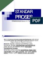 Permendiknas No. 41 Tahun 2007 Standar Proses_presentasi