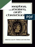 Louis H. Feldman Gohei Hata-Josephus, Judaism and Christianity-Wayne State University Press(1987)