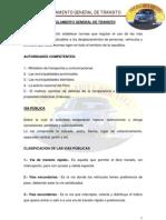 Reglamento General de Transito1