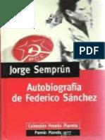 Semprún - Autobiografía de Federico Sánchez