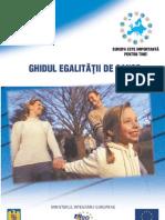 Ghidul Egalitatii de Sanse UNICEF