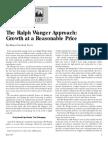 Wanger Ralph the Ralph Wanger Approach Growth at a Reasonable Price