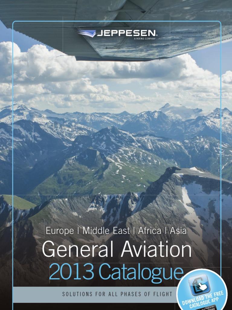 2013 EMEA Catalog for jeppesen products | Instrument Flight