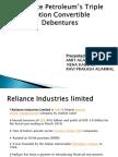 Reliance-Petroleum's-Triple-Option-Convertible-Debentures-BY AMIT AGARWAL