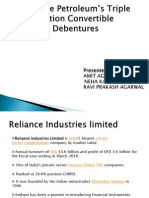 Reliance-Petroleum's-Triple-Option-Convertible-Debentures-BY AMIT AGARWAL