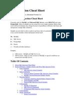 SQL Injection Cheat Sheet_DragonJAR.org
