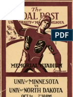 Walker Minnesota Football 1909