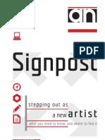 Signpost A-N