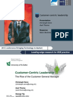 Customer Centric Leadership Senn Thoma Yip