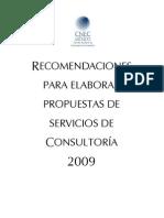 Recomendaciones Para Elaborar Propuestas de Servicios