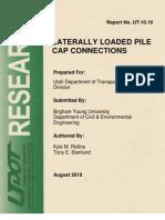 Utah DOT Pile Design Doc
