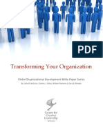 Transforming Your Organization