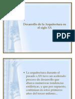 8° Básico-Desarrollo de la Arquitectura en el siglo XX